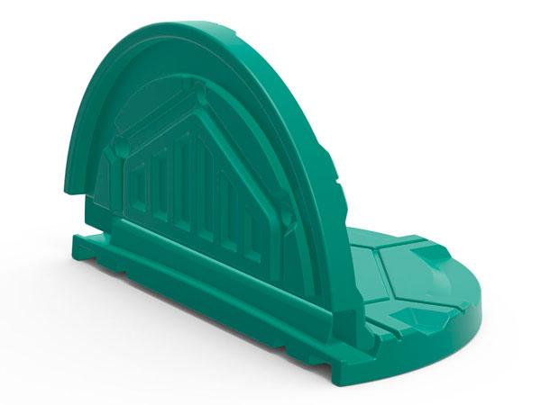 Крышка пластиковая откидная для колодца